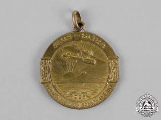 Spain, Uruguay. A Medal Commemorating the Flight of Plus Ultra from Spain to Uruguay 1926