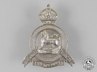 South Africa. A Boer War Era South African Constabulary Cap Badge