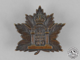 Canada. A Canadian Army Dental Corps General Service Cap Badge, c.1916