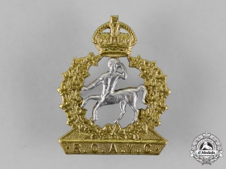Canada. A Rare Second War Royal Canadian Army Veterinary Corps Officer's Cap Badge
