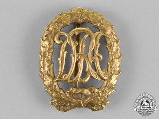 Germany. A DRA Bronze Grade Sports Badge by Wernstein of Jena