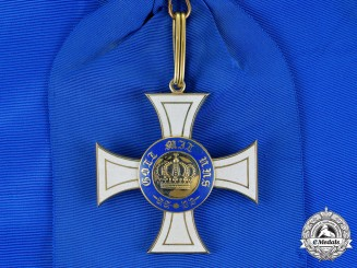 Prussia, State. A Royal Order of the Crown, Cross First Class, Unofficially Numbered