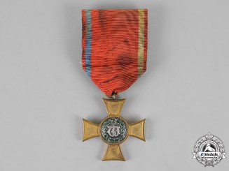 Württemberg. A Service Honour Cross, First Class for 25 Years of Service