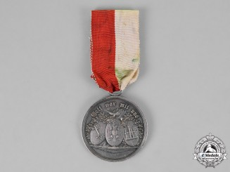 Hansa. A Joint War Commemorative Medal of the Hanseatic Legion, c.1815