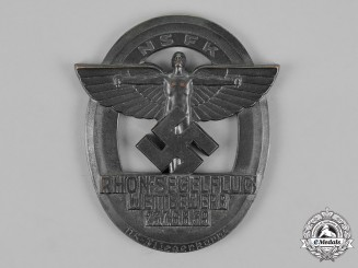 Germany, NSFK. A 1939 National Socialist Flyers Corps Rhön Gliding Championships Plaque