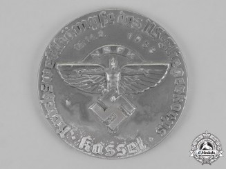 Germany, NSFK. A 1938 National Socialist Flyers Corps Kassel Championships Plaque