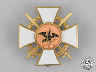 Prussia. A Veteran's Association Long Service Award, with Swords
