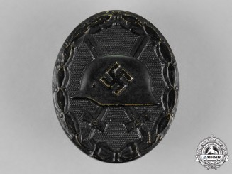 Germany. A Wound Badge, Black Grade