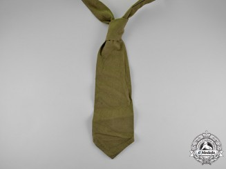Germany. A German Africa Corps Uniform Tie