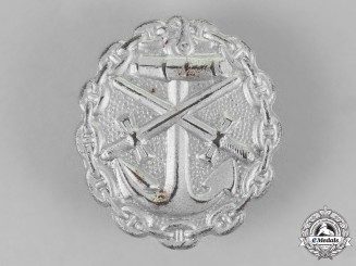 Germany, Empire. A Naval Wound Badge, Silver Grade