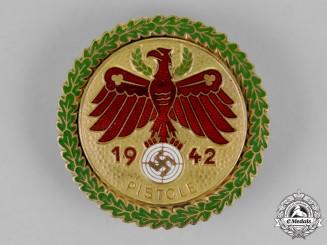 Austria, Tyrol.A Pistol Marksmanship Competition Award, c. 1942
