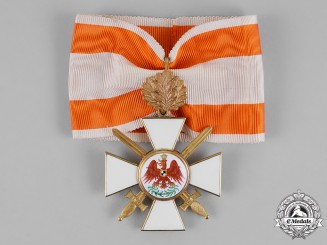Prussia, State. A Red Eagle Order, Second Class with Swords, and Oak Leaves, c.1917