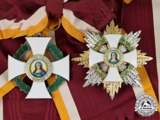 San Marino, Republic. An Order of St. Agatha, Grand Cross