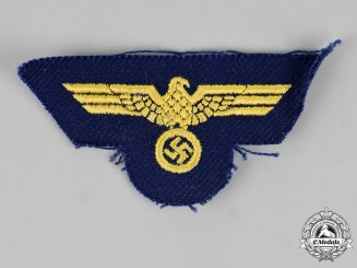 Germany, Kriegsmarine. An EM/NCO's Overseas Cap Eagle