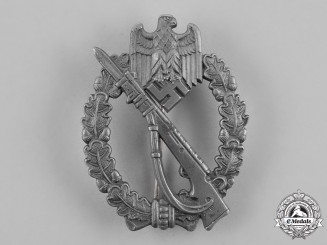 Germany, Wehrmacht. An Infantry Assault Badge, Silver grade