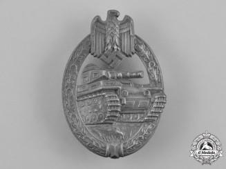 Germany, Wehrmacht. A Tank Badge, Silver Grade, by Adolf Schwerdt