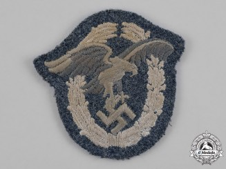 Germany, Luftwaffe. An Observer Badge, Cloth Version
