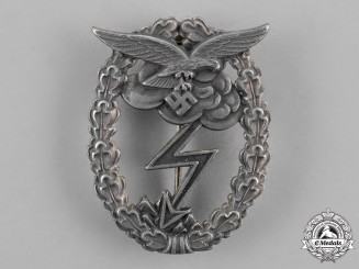 Germany, Luftwaffe. A Ground Assault Badge by G.H. Osang