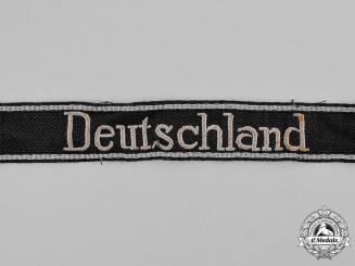Germany. A Waffen-SS Deutschland EM/NCO's Cufftitle