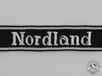 "Germany. A Waffen-SS Panzergrenadier Division ""Nordland"" Officer's Cufftitle"