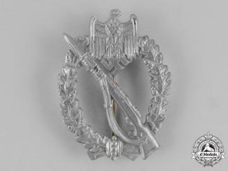 Germany. A Silver Grade Infantry Assault Badge by E. Ferdinand Wiedmann