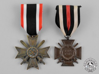 Germany, Wehrmacht. Two Medals and Awards