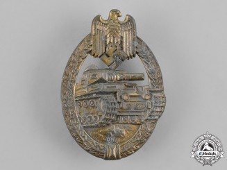 Germany, Wehrmacht. A Tank Assault Badge, Bronze Grade