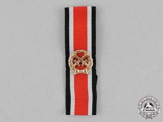 Germany, Republic. A Heer (Army) Honour Roll Clasp in its Case, 1957 Version.