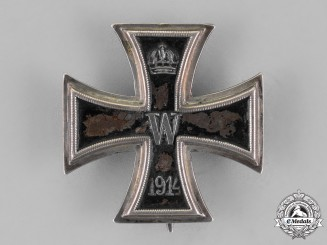 Prussia, State. An Iron Cross 1914, First Class, Belonging to Karl Seipold