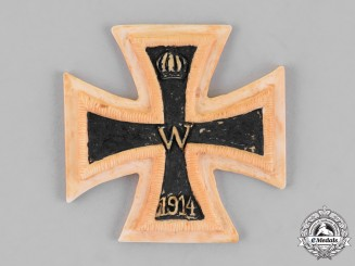 Prussia, State. An Iron Cross 1914 First Class, Trench Made