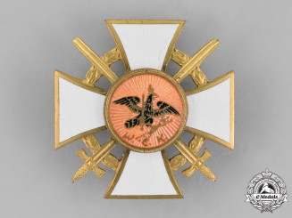 Germany, Weimpar Republic. A Veteran's Association Long Service Award, with Swords