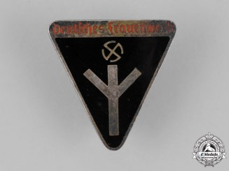 Germany. A National Socialist Women's League Membership Badge, by Ferdinand Wagner