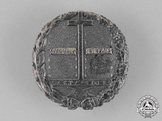 Germany, Weimar Republic. Freikorps Schlageter Badge; Second Type, by Paul Küst