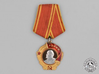 Russia (Soviet Union, USSR). An Order of Lenin, Type V, Variation 1