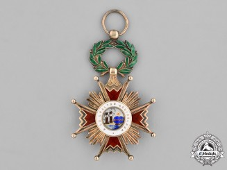 Spain. An Order of Isabella the Catholic, Knight, Type IV (Franco Era, 1938-1975)