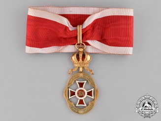 Austria, Empire. An Imperial Order of Leopold, Badge for Officers (Officials), Second Model