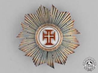 Portugal. A Military Order of Christ; Commander's Breast Star