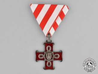 Croatia. An Order of Merit; Christian Version