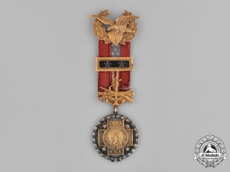 United States. A United Spanish War Veterans Past Department Commander's Jewel