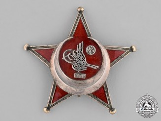 Turkey, Ottoman Empire. A Galipoli Star,c.1915