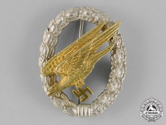Germany, Luftwaffe. A Parachutist Badge, by Jmme & Sohn