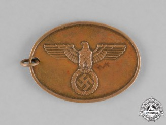 Germany. A Kriminalpolizei (Criminal Police) Identification Tag