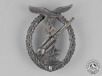 Germany, Luftwaffe. A Flak Badge, by F.W. Assmann