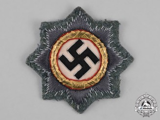 Germany, Wehrmacht. A German Cross in Gold, Cloth Version