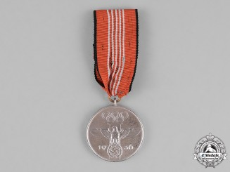 Germany. A 1936 XI Summer Olympic Games Service Medal