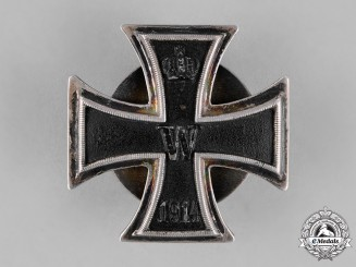 Prussia, State. An Iron Cross 1914 First Class, Screwback Version