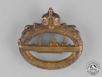 Germany, Empire. An Imperial Submarine (U-Boot) Badge