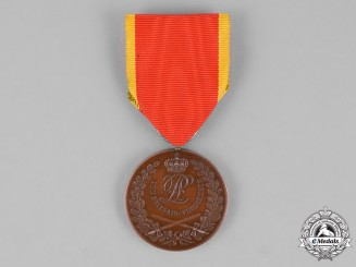 Lippe. A Military Merit Medal, Second Type