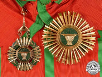 Cambodia, Kingdom. A Royal Order of Sahametrei, Grand Cross, by Arthus Bertrand, c.1955