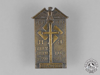 Germany. A 1933 Albert L. Schlageter Martyrdom and Youth Day Celebration Badge